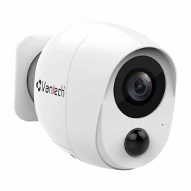 Camera Wifi dùng pin 2MP VANTECH VP-B7300PIR