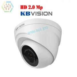 Camera Dome 4 in 1 KBVISION hồng ngoại 2.0 Megapixel  KX-2112C4