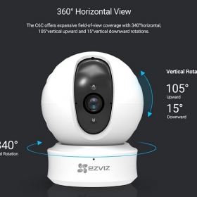 Camera Wifi Ezviz EZ360 CS-CV246 (C6C 1080P)