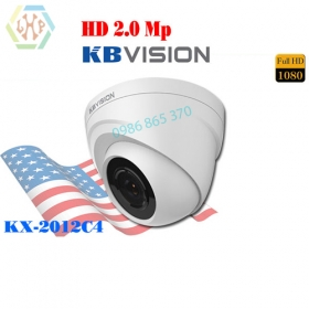 Camera HD Kbvision 2.0Mp 4 in 1 KX-2012C4